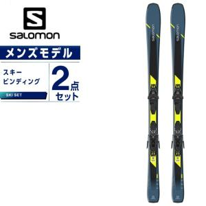 サロモン スキー板 セット金具付 メンズ スキー板+ビンディング XDR 76 ST C +L10GW salomon|ヒマラヤ PayPayモール店