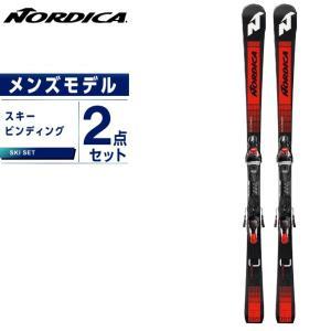 ノルディカ NORDICA スキー板 セット金具付 メンズ スキー板+ビンディング DOBERMANN SLC FDT +TPX 12FDT|ヒマラヤ PayPayモール店