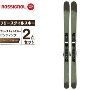 ロシニョール ROSSIGNOL スキー板 セット金具付 フリースタイルスキー メンズ スキー板+ビンディング SMASH 7 +XPRESS10|himaraya