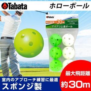 タバタ TABATA ゴルフ 練習用 練習器具 トレーニングボール 練習器 ホローボール GV-0310 himaraya