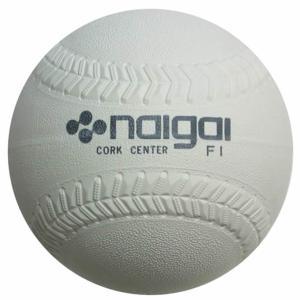 ナイガイ ソフトボール ボール 1号 試合球 内外ソフト1号 136032|himaraya