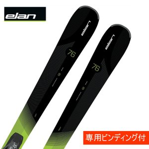 エラン ELAN スキー板 セット金具付 AMPHIBIO 76 QT + EL 10.0 【15-16 2016モデル】|himaraya