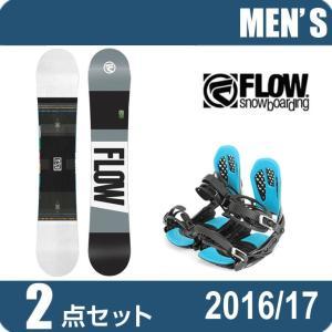 スノーボード 2点セット メンズ フロー FLOW MERC...