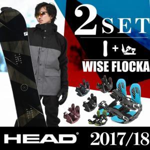 スノーボード 2点セット メンズ ヘッド HEAD WISE...