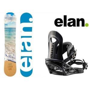 スノーボード 2点セット レディース エラン ELAN  MAHALO+PR ボード+ビンディング|himaraya