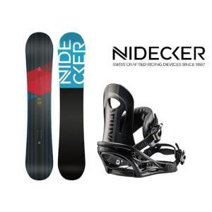 スノーボード 2点セット メンズ NIDECKER ニデッカ...