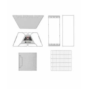 ロゴス LOGOS バーベキューコンロ LOGOS The ピラミッドTAKIBI L + 囲炉裏テーブルセット 81064162 + 81064134 himaraya 04