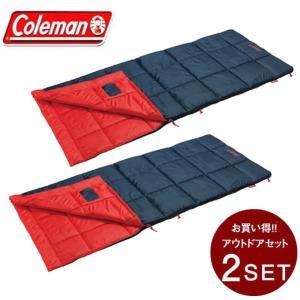 コールマン 封筒型シュラフ パフォーマーIII/C5 オレンジ セット 2000034774 Col...