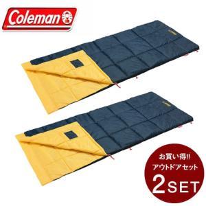 コールマン 封筒型シュラフ パフォーマーIII C10 イエロー セット 2000034775 Co...