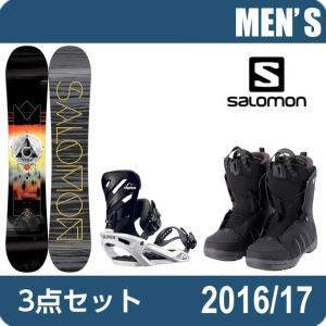 スノーボード 3点セットメンズ サロモン salomon S...