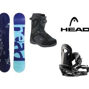 ヘッド HEAD スノーボード 3点セット レディース PE...