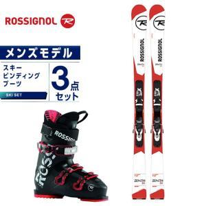ロシニョール ROSSIGNOL スキー板 3点セット メンズ スキー板+ビンディング+ブーツ ZENITH FR + XPRESS 10 + EVO 70