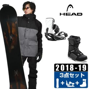 ヘッド HEAD スノーボード 3点セット メンズ FUSION + RHYTHM + SCOUT PRO BOA ボード+ビンディング+ブーツ