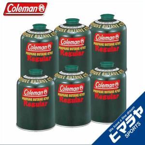 コールマン ガスカートリッジ 純正LPガス燃料 Tタイプ 470g 6個 5103A470T coleman|himaraya