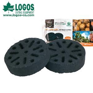 ロゴス LOGOS 木炭 着火剤 エコココロゴス・ラウンドストーブ2 83100102 od|himarayaod