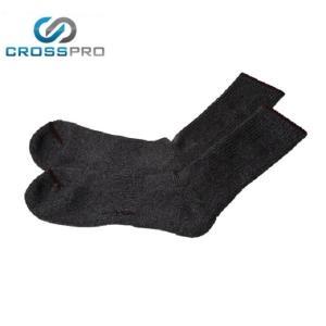 クロスプロ CROSS PRO トレッキングソックス メンズ ドラロン足底左右別クル- Z378059 od|himarayaod