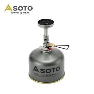 ソト SOTO シングルバーナー マイクロレギュレーターストーブ ウインドマスター SOD-310 od|himarayaod