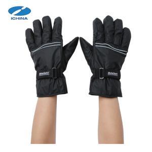 イチーナ ICHINA 手袋 メンズ 合皮 防水&発熱 グローブ 2768 od|himarayaod