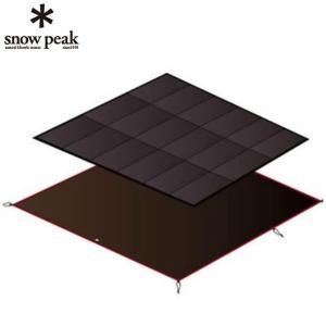 スノーピーク snow peak インナーマット アメニティドームLマットシートセット SET-121 od|himarayaod