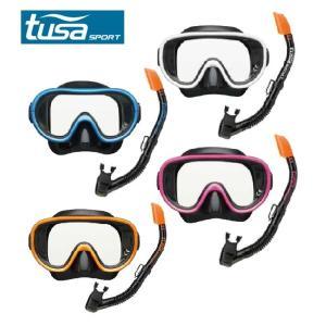 ツサ スポーツ TUSA SPORT シュノーケリングセット シリコンマスクセット UC0101 od himarayaod
