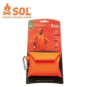 エスオーエル SOL サバイバルポンチョ 12515-7 アウトドアレインウェア ポンチョ od|himarayaod