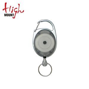 ハイマウント Highmount アウトドアアクセサリー リールキーホルダー グレー 11235 od|himarayaod
