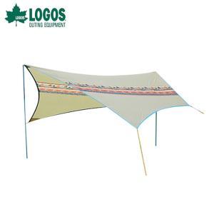 ロゴス LOGOS タープ Tarp ナバホTepee ブリッジヘキサ-AE 71806509 od|himarayaod