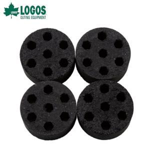 ロゴス LOGOS 木炭 着火剤 エコココロゴス・ミニラウンドストーブ4 83100104 od|himarayaod