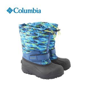 コロンビア Columbia スノーブーツ・冬靴 ジュニア ユースパウダーバグフォーティープリント BY1325 od|himarayaod