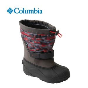 コロンビア Columbia スノーブーツ 冬靴 ジュニア ユースパウダーバグプラスII プリント BY1327 od|himarayaod