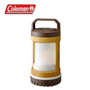 コールマン LEDランタン バッテリーロック USBリチャージャブル ランタン ナチュラルウッド 2000031277 coleman od|himarayaod