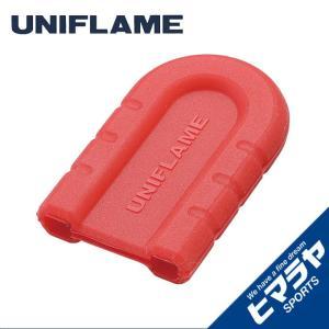 ユニフレーム UNIFLAME 調理器具 ちびパン シリコンハンドル レッド 666418 od|himarayaod