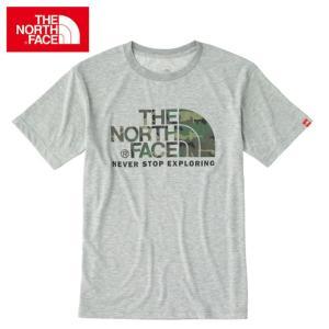 ノースフェイス アウトドア Tシャツ 半袖 メンズ ショートスリーブ カモフラージュ ロゴティー NT31622 THE NORTH FACE od|himarayaod