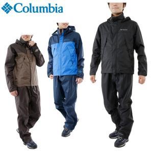 コロンビア Columbia レインウェア上下セット メンズ シンプソンサンクチュアリレインスーツ PM0124 od
