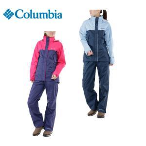コロンビア Columbia レインジャケット レディース シンプソンサンクチュアリーレインスーツ PL0125 od|himarayaod