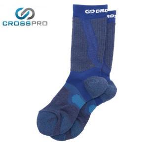 クロスプロ CROSS PRO トレッキングソックス メンズ レディース 3DFアーチPダブルテーピングクルーCW Z178-100-24-69 od|himarayaod