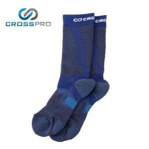 クロスプロ CROSS PRO トレッキングソックス メンズ 3DFアーチPダブルテーピングクルーCW Z178-100-26-69 od|himarayaod