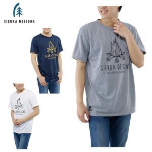 シェラデザイン ( SIERRA DESIGNS ) アウトドア Tシャツ 半袖 メンズ キャンプファイヤー 防蚊 SS T 20913236 od himarayaod