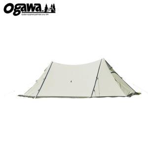 オガワ OGAWA タープ Tarp ツインピルツフォーク T/C 3345 od|himarayaod