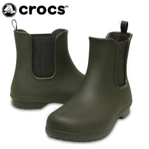 クロックス crocs レインブーツ レディース フリーセイル チェルシー ブーツ ウィメン 204630-3Q6 od|himarayaod