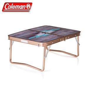 コールマン アウトドアテーブル 小型テーブル ILミニテーブルプラス モザイクウッド 2000032522 Coleman  od|himarayaod