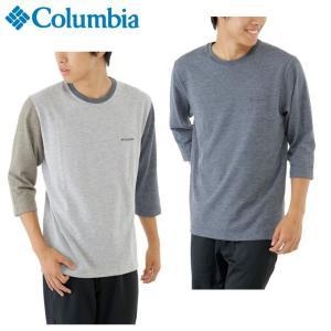 コロンビア Columbia Tシャツ 長袖 メンズ St. Louis Isle 3/4 Sleeve Crew セント ルイス アイル 3/4 スリーブ クルー PM4373 od|himarayaod