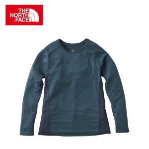 ノースフェイス Tシャツ 長袖 レディース L/S GTD Melange Crew ロングスリーブ GTD メランジ クルー NTW11772 THE NORTH FACE od|himarayaod