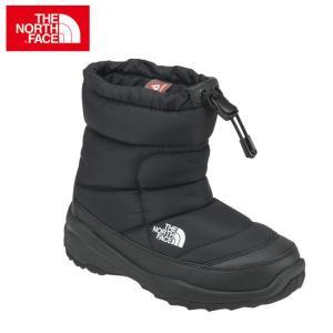 ノースフェイス スノーブーツ・冬靴 ジュニア K Nuptse Bootie WP ヌプシ ブーティー ウォータープルーフ NFJ51780 THE NORTH FACE od himarayaod