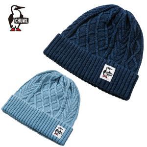 チャムス CHUMS ニット帽 Indigo Knit Cap インディゴニットキャップ 帽子 CH05-1091 od|himarayaod