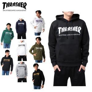 THRASHER スラッシャー パーカー メンズ MAG HOODIE マグ フーディー TH8501 od|himarayaod