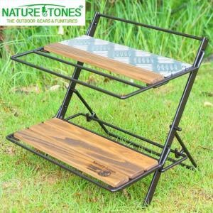 ネイチャートーンズ NATURE TONES アウトドア 小型テーブル ヴィンテージ ドリッパースタンド DRS-DB od|himarayaod