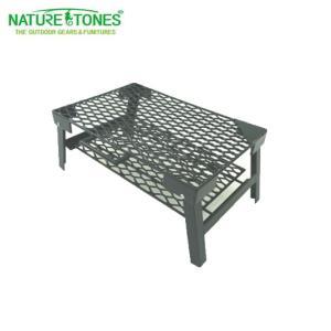 ネイチャートーンズ NATURE TONES アウトドアテーブル ロンバスメッシュテーブル The Rhombus Mesh Table M RM-M-B od|himarayaod