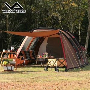 ビジョンピークス VISIONPEAKS テント 大型テント クワトロアーチ2ルームテント VP160101H01 od himarayaod
