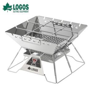 ロゴス LOGOS 焚き火台 the ピラミッドTAKIBI L ザ タキビ 81064162 od|himarayaod